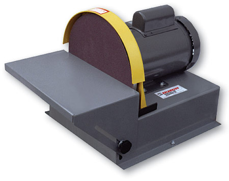 Ds12 12 disc sander kalamazoo industries for 10 sanding disc for table saw