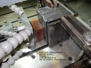 K36E  spring steel cut