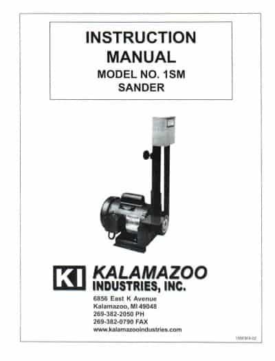 1SM 1 X 42 inch belt sander manual, 1 x 42 inch