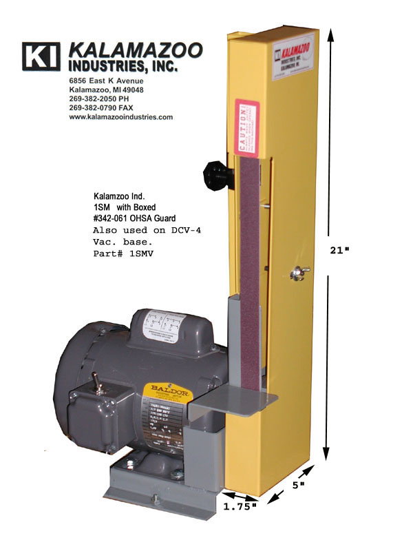 1SM 1 x 42 inch Kalamazoo Industries Industrial Belt Sander