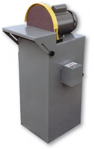 DS12V 12 Inch Disc Sander & Vacuum Base, 12 inch disc sander & vacuum base, disc sander & vacuum base, Kalamazoo, sand ferrous and non-ferrous metals