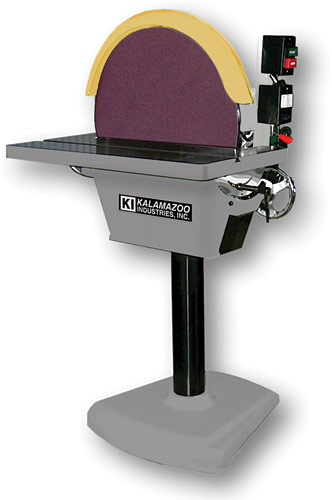 Ds20 20 disc sander kalamazoo industries for 10 sanding disc for table saw