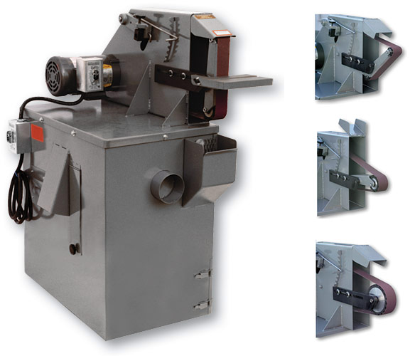 S272V 2 X 72 multi-purpose belt grinder & vacuum base, belt grinder, belt grinder & vacuum base, 2 x 72