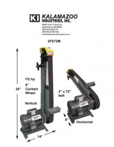 72 inch multi position belt grinder, 2FS72/2FS72M 2 x 72 Inch Multi Position Belt Grinder, 2 x 72 inch multi position belt grinder, Grinder, 2 x 72