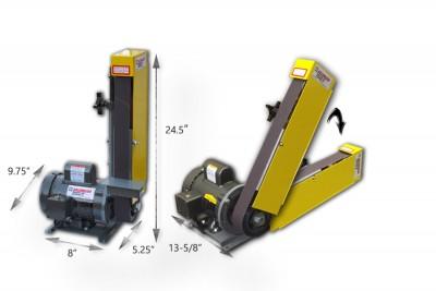 Kalamazoo Industries 2FSM 2 x 48 inch multi-position belt sander, 2 x 48 inch multi-position belt sander, 2FSM 2 x 48 inch multi-position belt sander, multi-position belt sander, slack belt
