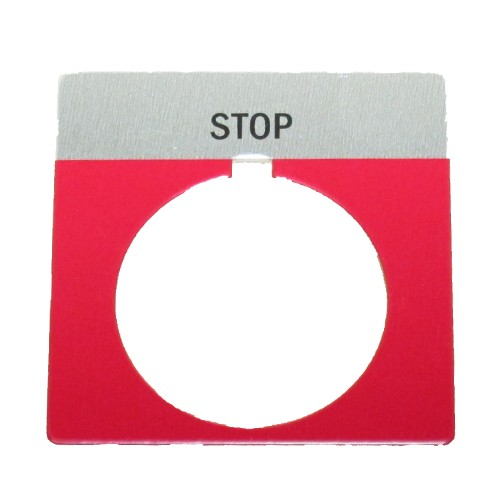 710-029 stop label, industrial, belt sanders, belt, sanders