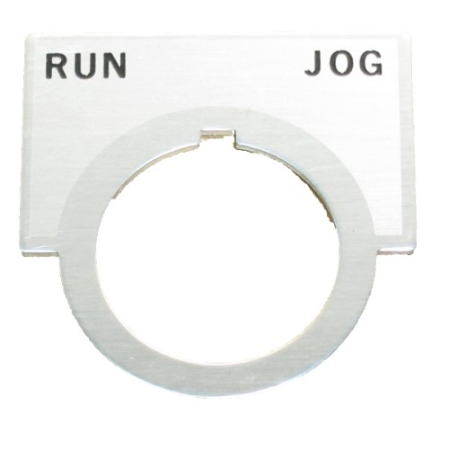 710-336 run-jog label, industrial, belt sander, sander, belt