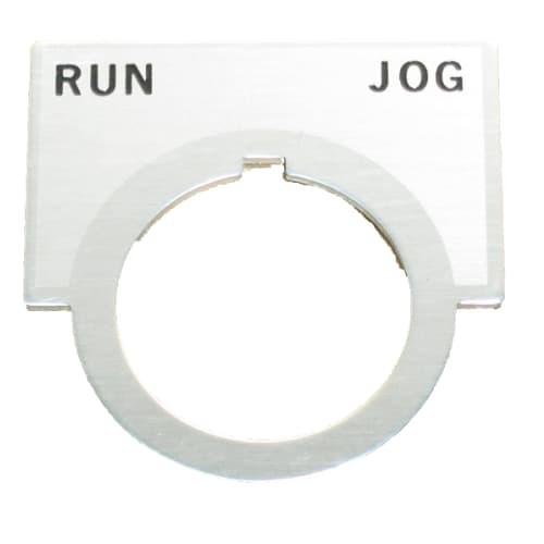710-336 run-jog label, industrial, belt sander, sander, belt
