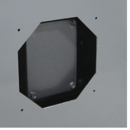 Access point for vacuum motor