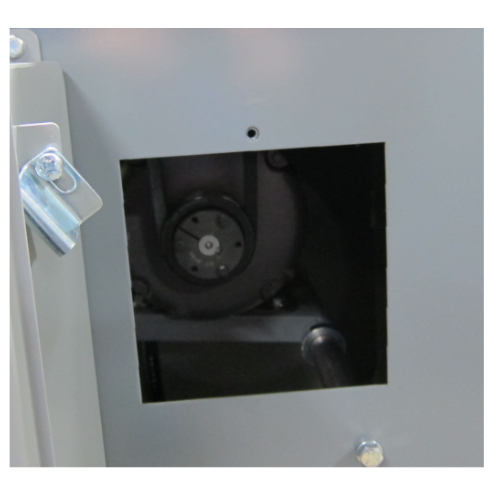 Access point for pulley and bushing