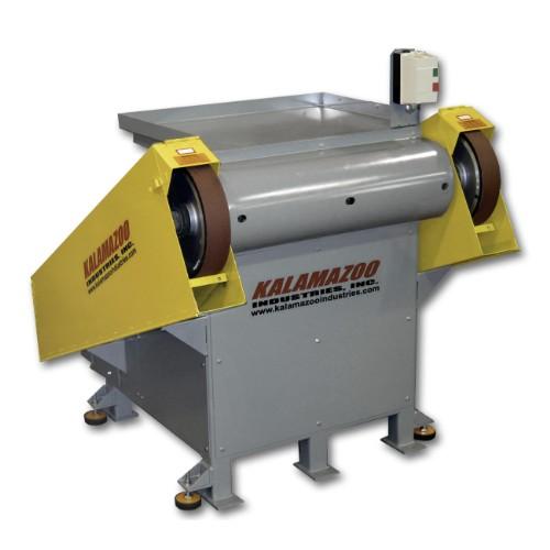 BG214 dual 3 x 132 inch heavy duty backstand grinder