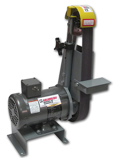 kalamazoo belt grinder. bg248, belt grinder, kalamazoo industries, industries inc grinder 0