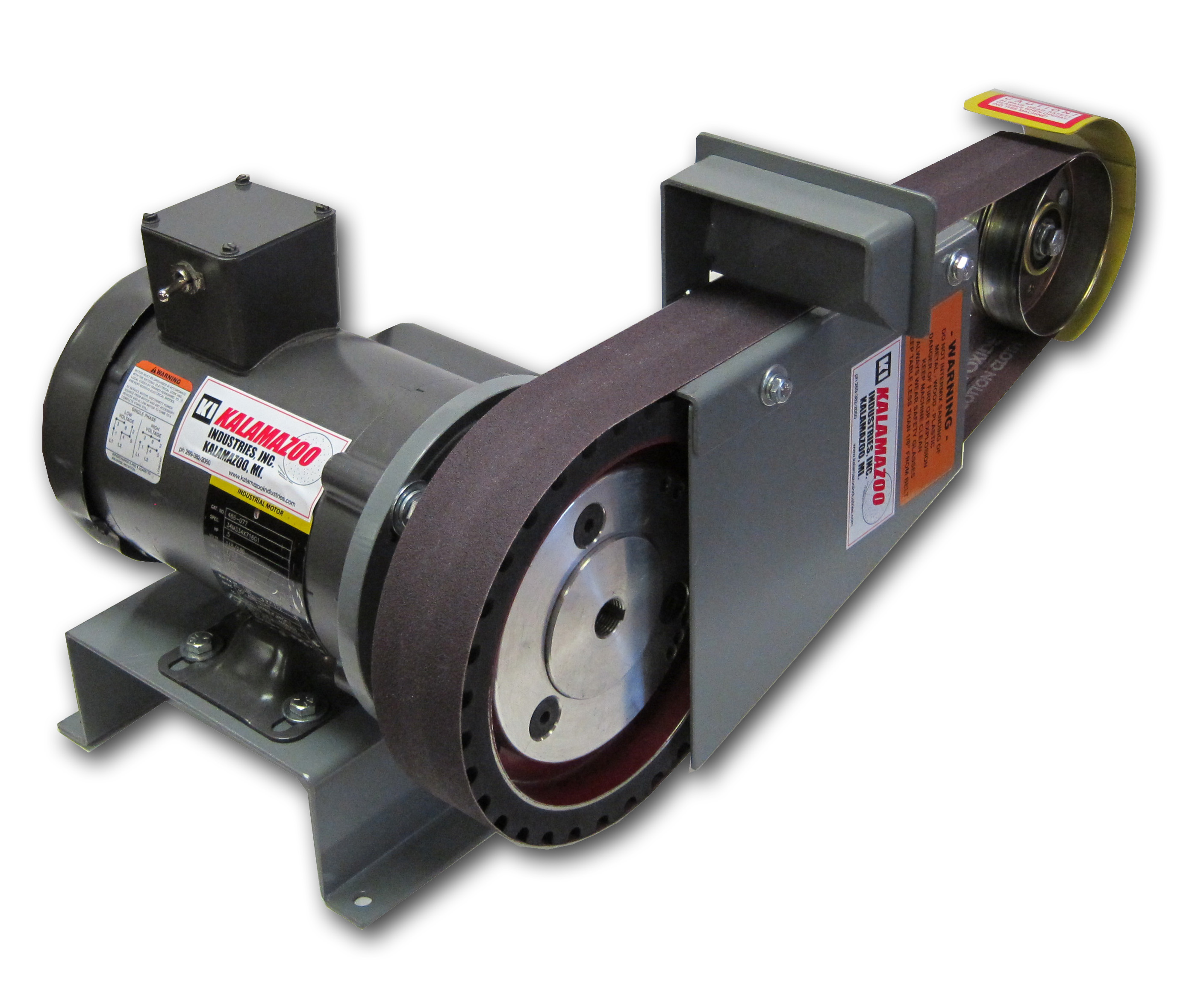 Kalamazoo Industries Bg248 2 X 48 Industrial Belt Grinder