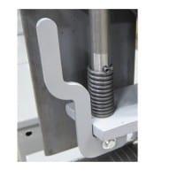 Belt tension release handle