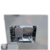 Combination sander drive motor access port