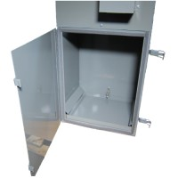 DCV-4 access door with debris tray
