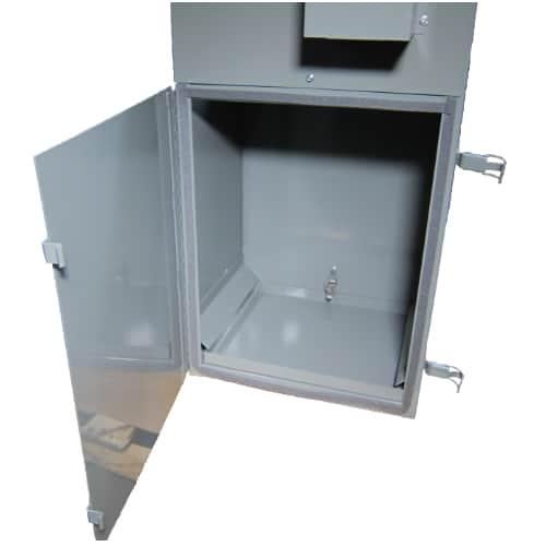 DCV-4 access door with debris tray, DCV-4 Dust Collector, vacuum, Kalamazoo, sander, collector