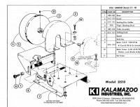 DS10 and DS10V 10 inch disc sander replacement part list, DS10 and DS10V 10 inch disc sander, 10 inch disc sander, disc sander, The parts list works for all DS10 and DS10V disc sanders regardless of sanders age., sander