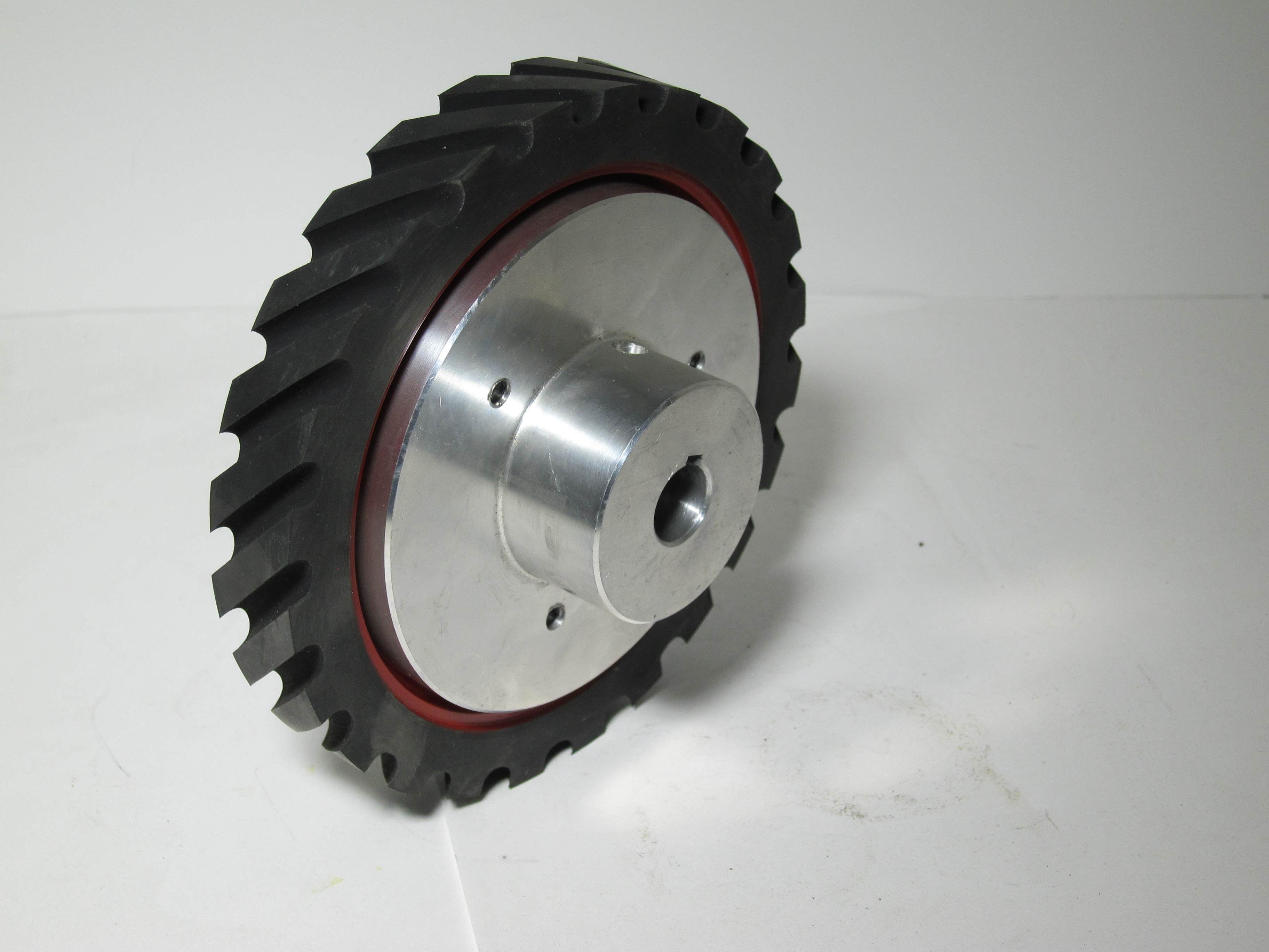 936-034 BG142 1 x 42 inch kalamazoo contact wheel, contact wheel, kalamazoo contact wheel, belt grinding, grinding