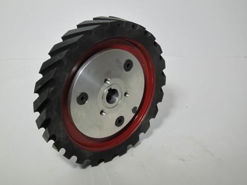 936-034 BG142 1 x 42 inch kalamazoo contact wheel, 936-034, BG142 1 x 42 inch kalamazoo contact wheel