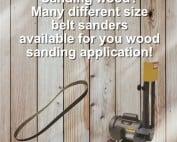 Industrial wood working belt sanders, industrial, belt, wood, tools