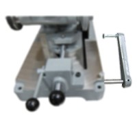 K10B-adjustable work length stop, cutoff saw