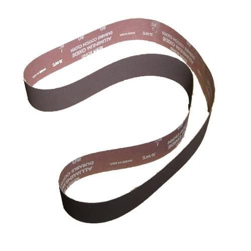 KB26080 2 x 60 inch 80 grit aluminum oxide sanding belt, aluminum oxide sanding belt, aluminum oxide, 2 x 60 inch 80 grit, sanding belt