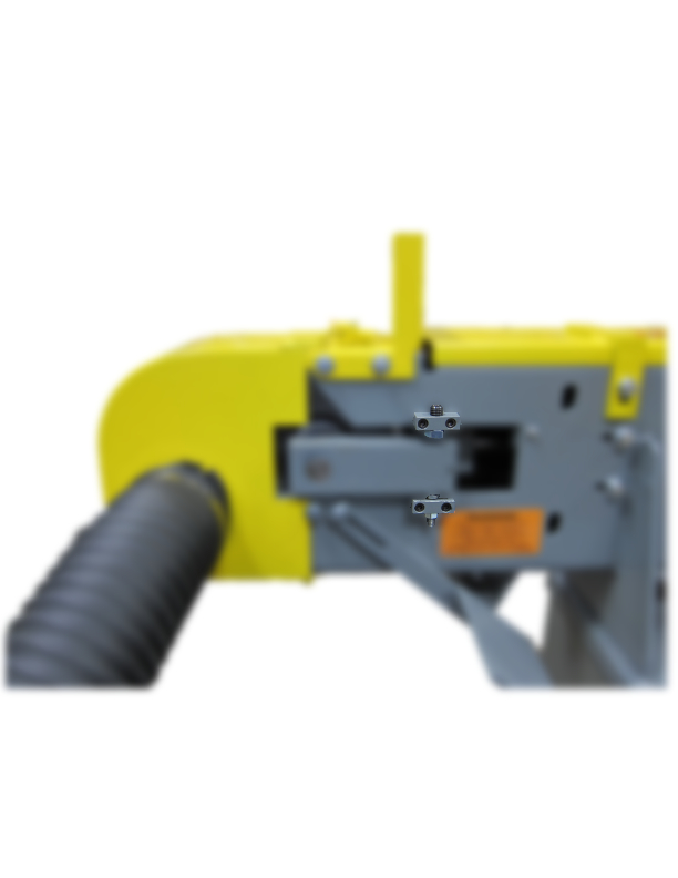 KS390-KS690 belt grinder belt tracking blocks