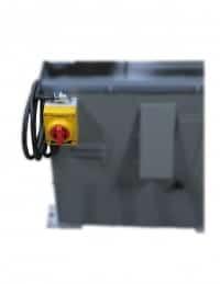 KS490HV-5 4 x 90 belt grinder vacuum on-off switch