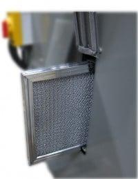 KS490HV-5 - KS690HV-% belt grinder vacuum filter access port, KS490HV-5 - KS690HV-5 belt grinder and DCV-6 vacuum filter access port, S460V 4 x 60 inch Dry Industrial Belt Sander With Vacuum Base, collector, vacuum