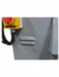 KS490HV-5 - KS690HV-5 belt grinder and DCV-6 vacuum motor access port, S460V 4 x 60 inch Dry Industrial Belt Sander With Vacuum Base, industrial, belt sander, vacuum