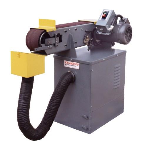 KS690HV 6 x 90 inch heavy duty industrial horizontal belt grinder