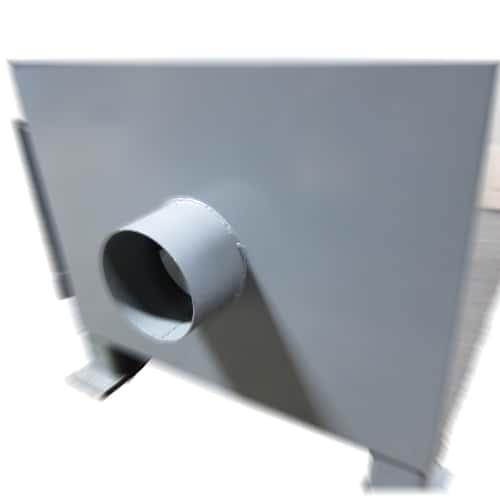 S10D 10 x 90 inch belt sander 6 inch vacuum port