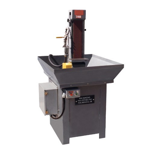 S460W 4 x 60 inch wet abrasive industrial belt sander