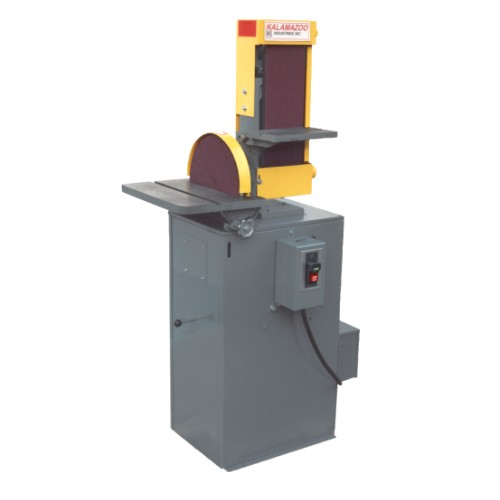 S612 & S612V industrial combination sander with vacuum base
