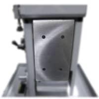 S8 8 x 60 inch belt sander reversible platen