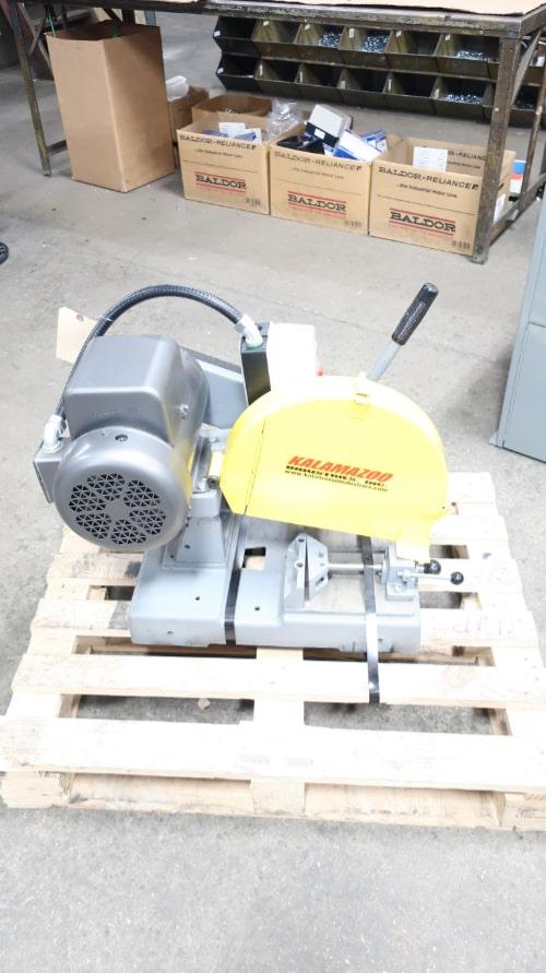 Used K12-14B-1PH 220v 14 inch chop saw, 14 inch chop saw, cutoff saw, 14 inch saw, chop saw