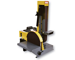 DS10-2M, disc sander, combination sander, belt sander, disc sander, combination sander, Kalamazoo Industries